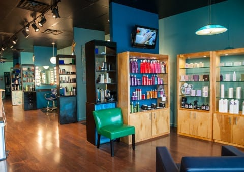 New Lobby + Product Shelving